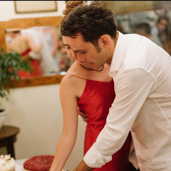 terembérlés esküvőre fiatal pár